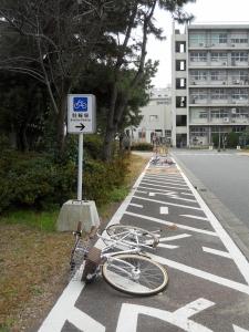 倒下的單車