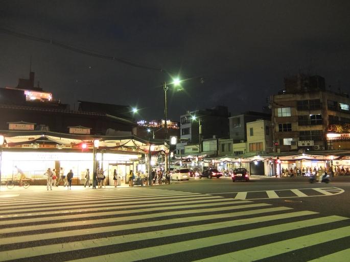 八坂神社前的景緻。