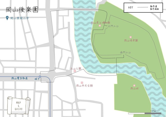 okayama_kourakuen_map_21430525484_o